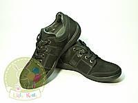 Туфли кроссовки на мальчика кожа нубук. Hазмеры 32,33,34,35,36,37,38.