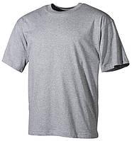 Армейская футболка USA, серая, 100 % cotton