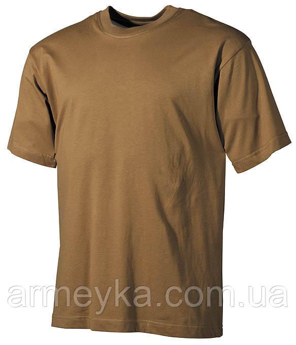 Армейская футболка USA, койот, 100 % cotton