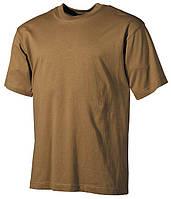 Армейская футболка USA, койот, 100 % cotton, фото 1