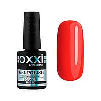 Гель-лак № 164(яркий красно-оранжевый, неоновый) 10 мл Oxxi