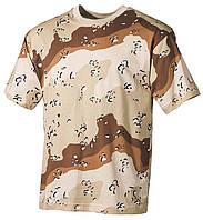 Армейская футболка USA, кам. Буря в пустыне, 100 % cotton