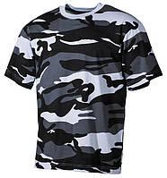 Армейская футболка USA, амер. кам. Skyblue, 100 % cotton