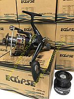 Катушка Eclipse J-3 FR 4000 (7+1) с байтранером Алюминиевая шпуля