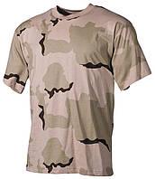 Армейская футболка USA, кам. 3-color desert, 100 % cotton