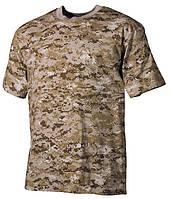 Армейская футболка USA, кам. digital desert, 100 % cotton