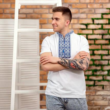 Трикотажная мужская вышиванка, фото 2