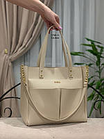 082a5eb39a6a Женская сумка кожаная топ качества вместительная ,жіночі сумки Україна .под  бренд свет. беж