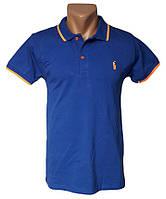 Стильная футболка поло - №5034