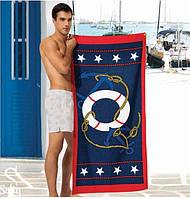 Стильное пляжное полотенце - №908