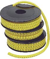 """Маркер МК3- 6мм символ """"6""""  350шт/ролл"""