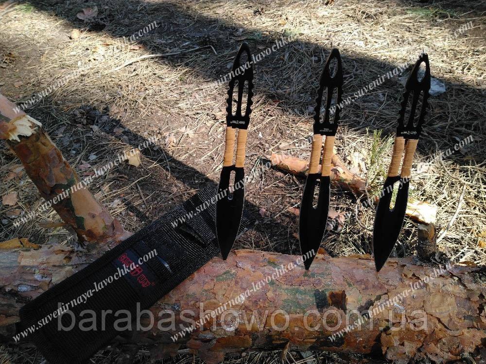 Ножи метательный 13719 Черные Иглы