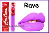Lime Crime Lipstick Velvetines Rave - Electric Lavender