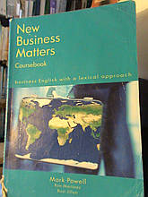 New Business Course Book Matters