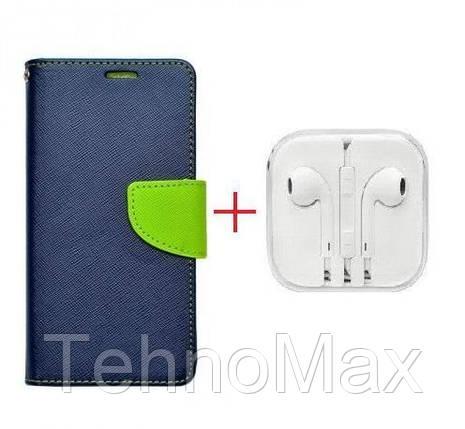 Чехол книжка Goospery для LG ARISTO 2 + наушники Apple iPhone (в комплекте). Подарок!!!, фото 2