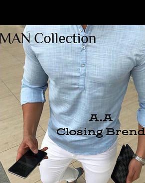 Рубашка мужская 42-54р цвета в ассортименте, фото 2