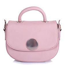 Женская мини-сумка из качественного кожезаменителя  AMELIE GALANTI (АМЕЛИ ГАЛАНТИ) A15012002-pink, фото 3