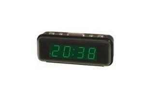 Часы сетевые 738-4 (салатовые), фото 2