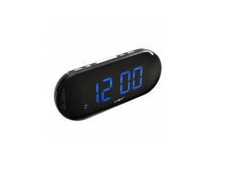 Часы сетевые 717-5 (синие), фото 2