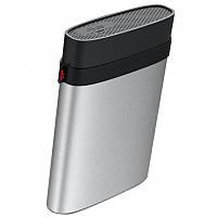 "Внешний жесткий диск 2.5 ""1 TB Silicon Power Armor A85 Black / Silver (SP010TBPHDA85S3S) (USB 3.0)"