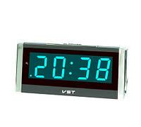 Часы сетевые 731-5 (синие)