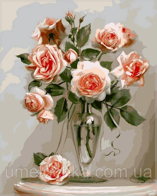 Набор для рисования Babylon Кораловые розы