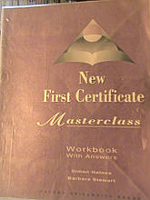 New First Certificate Masterclass Work Book with Answers