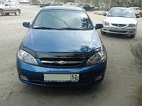 Дефлектор капота (мухобойка) Chevrolet Lacetti 2003- Код:73444649
