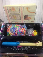 Набор силиконовых резиночек для плетения браслетов