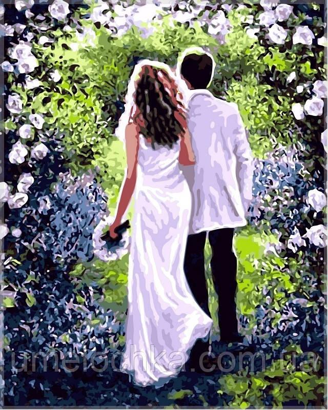 Картина по номерам на холсте Babylon Вечер любви