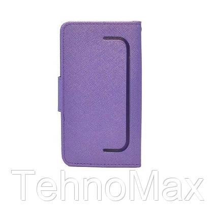 Чехол книжка Goospery для Motorola MOTO E3 + наушники Apple iPhone (в комплекте). Подарок!!!, фото 2