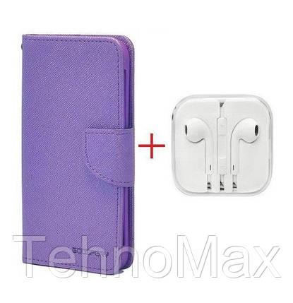 Чехол книжка Goospery для LG X MAX + наушники Apple iPhone (в комплекте). Подарок!!!, фото 2