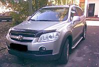 Дефлектор капота (мухобойка) Chevrolet CAPTIVA 2006- Код:74603998