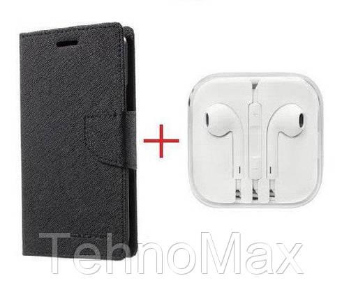 Чехол книжка Goospery для  HTC DESIRE 530 + наушники Apple iPhone (в комплекте). Подарок!!!, фото 2