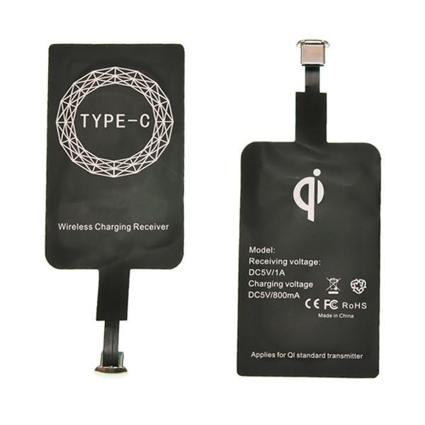 Приемник для беспроводной зарядки FAST CHARGE Micro USB Type – C