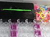 Набор для плетения браслетов из силиконовых резинок (с большим станком)