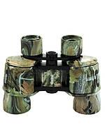 Оригинальный бинокль BSH 10х40 color, маскировочная расцветка под лес, влагостойкий, поле зрения 100 м/1 км