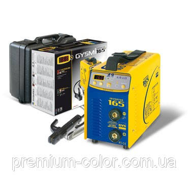 Инвертор 160А для аргонодуговой сварки GYSMI TIG 167 - Premium Color  в Киеве