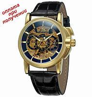 Мужские механические часы годинник скелетон Skeleton ОРИГИНАЛ Winner, фото 1