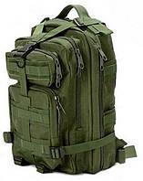 Стильный Тактический штурмовой военный Рюкзак - городской армейский 25 л(green)