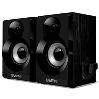 Колонки SVEN SPS-517 (black) Active speakers 2x3W, деревянный корпус