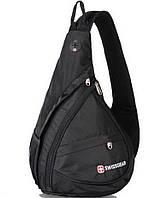 Качественный Городской однолямочный рюкзак - слинг Wenger SwissGear Small Swiss