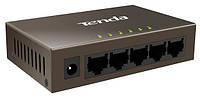 Свич TENDA TEF1005D 5 портов Fast Ethrnet Switch