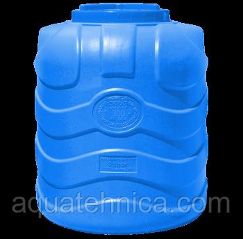 Ёмкость пластиковая вертикальная трёхслойная 300 литров, пищевая