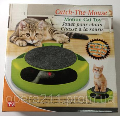 Игрушка для кошек Поймай Мышку Cat mouse chase toy (AS SEEN ON TV)