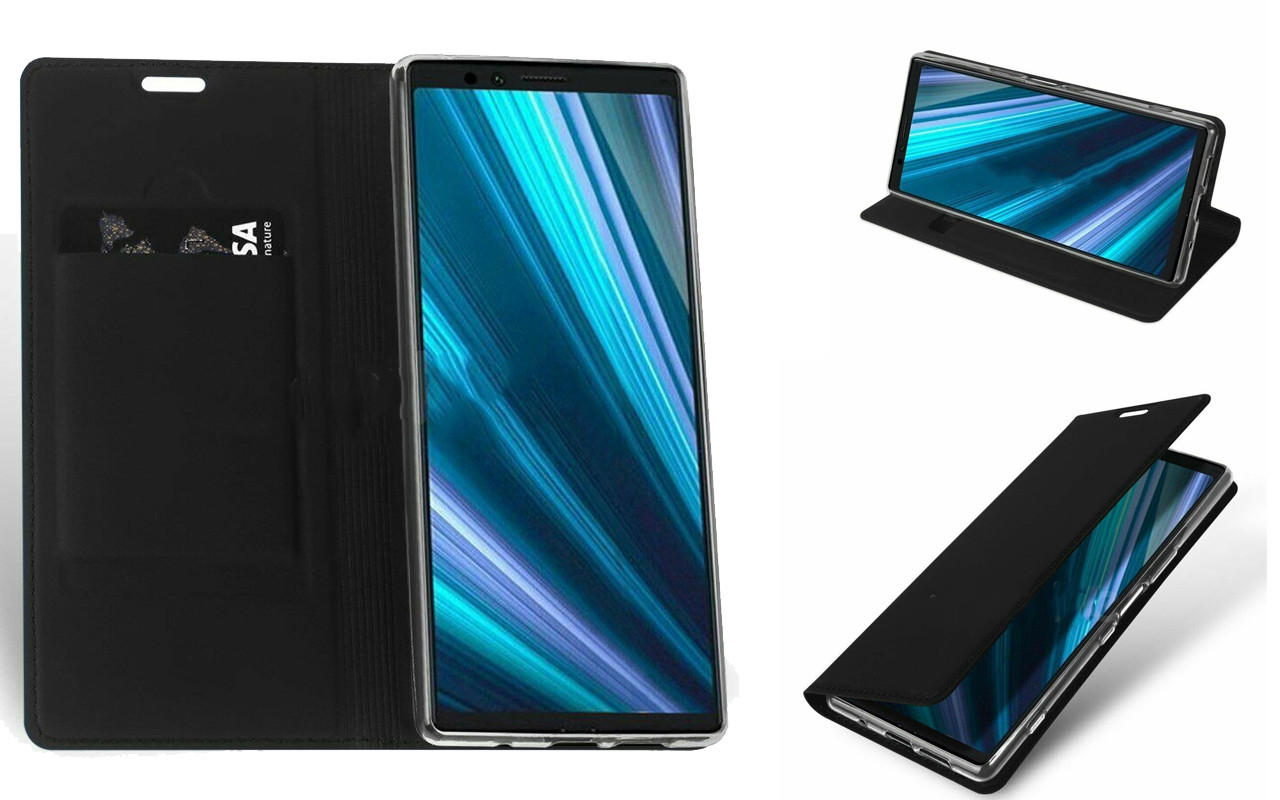 Чехол-книжка для Sony Xperia 1 - Black