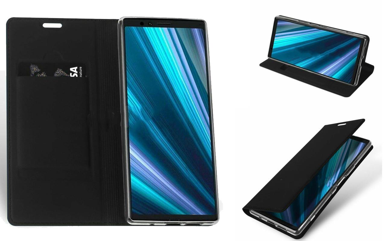 Чехол-книжка для Sony Xperia 1 - Dark Blue