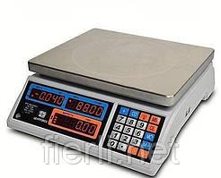 Весы торговые ВТЕ-Центровес-15-Т1-ДВ(СВ) (15 кг)