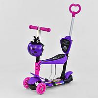 Детский самокат Best Scooter с принтом 5в1  12409 (свет. платформы и колес)