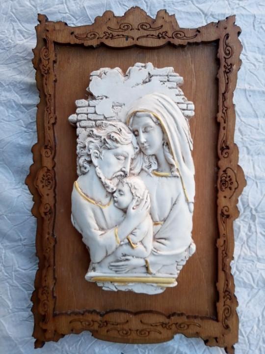 Икона Пресвятая семья (средняя)